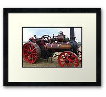 Steam Engine Framed Print