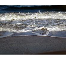 The Rolling Ocean Waves Photographic Print