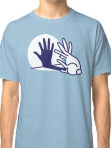 hand shadow rabbit Classic T-Shirt