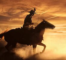 The Cowboy by Wojciech Dabrowski
