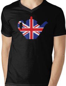 British teapot Mens V-Neck T-Shirt