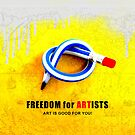 Freedom For Artists by eleni dreamel