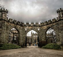 HDR Auckland Castle Entrance by Andrew Pounder