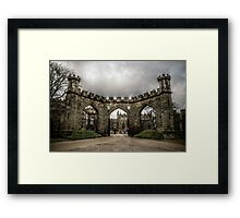 HDR Auckland Castle Entrance Framed Print