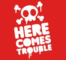 Here comes trouble One Piece - Short Sleeve
