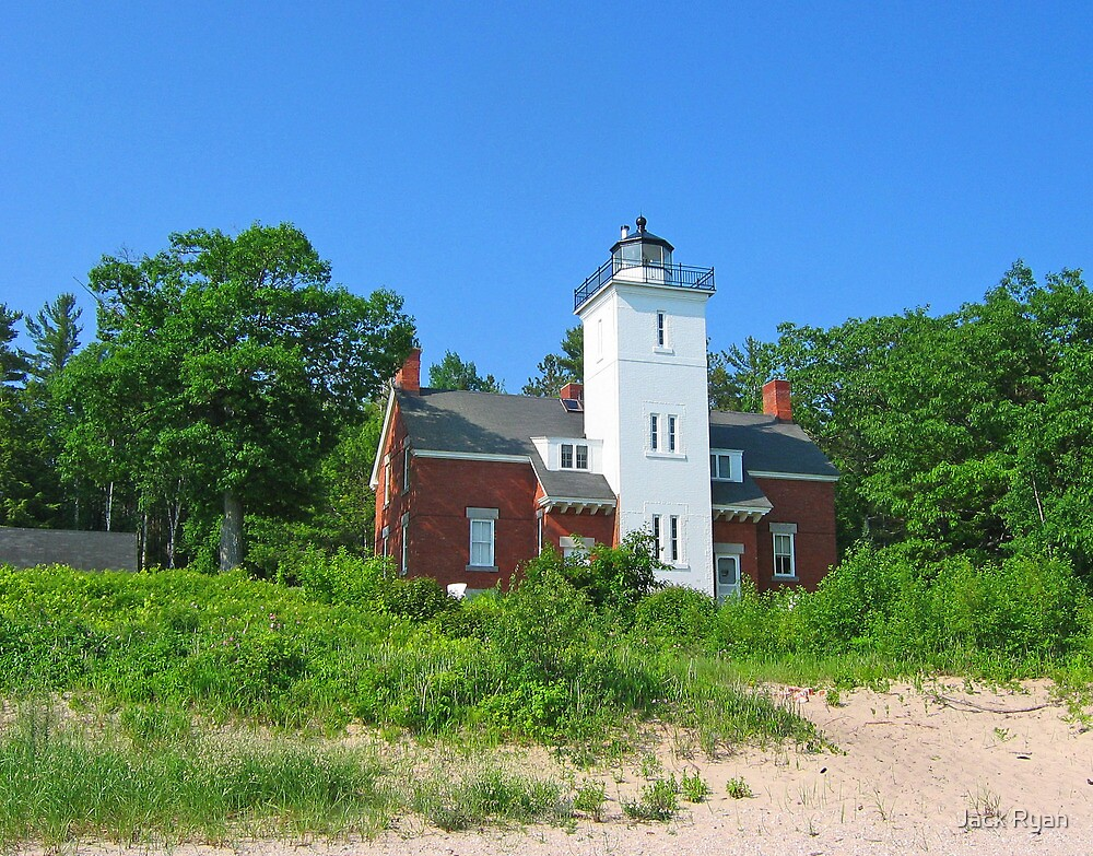Forty Mile Point Lighthouse by Jack Ryan