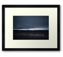 Darkness at Ventry Framed Print