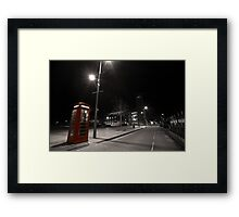 Britain's Streets - RSC Framed Print