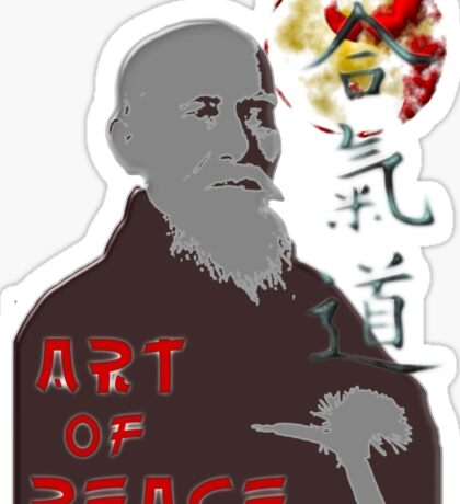 Art of peace ver. 2 Sticker