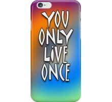 YOLO - Tie Dye iPhone Case/Skin
