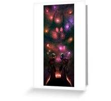 Invader Zim Fan Art - Almighty Tallest Red & Purple Greeting Card