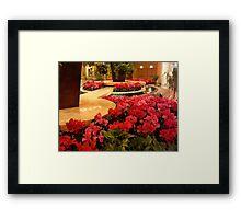 Borgata Lobby    ^ Framed Print