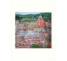 The Duomo of Florence Art Print