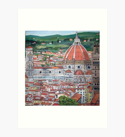 The Duomo of Florence Art Print