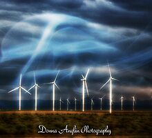 Divine windfarm by Donna Anglin Husband