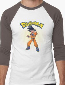 Dragonmon Men's Baseball ¾ T-Shirt
