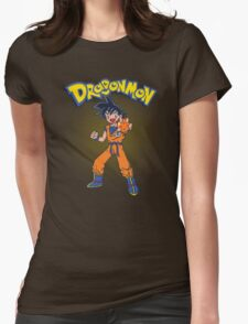 Dragonmon Womens Fitted T-Shirt