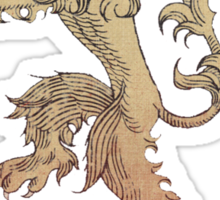 Hear me roar - Game of Thrones Sticker