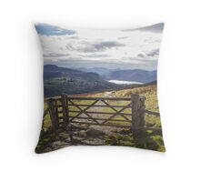 Gateway to Keswick Throw Pillow