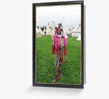 Jester & Tipis  Greeting Card