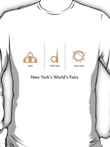 New York's World's Fairs T-Shirt