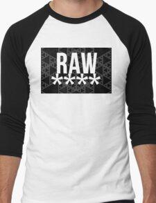 RAW**** Men's Baseball ¾ T-Shirt