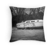 Abandoned & Forgotten Throw Pillow