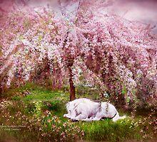 Where Unicorn's Dream by Carol  Cavalaris