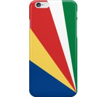 Seychelles Flag iPhone Case/Skin