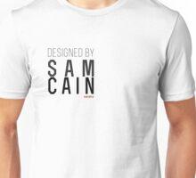 designed by sam cain Unisex T-Shirt