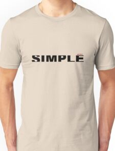 simple type  Unisex T-Shirt