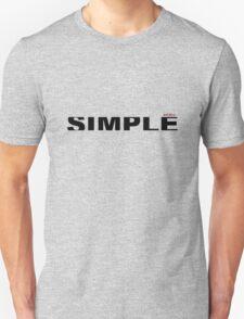 simple type  T-Shirt