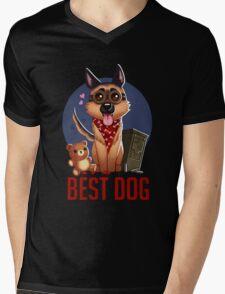 Best Dog Mens V-Neck T-Shirt