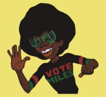 Vote Miles T-Shirt by retrorebirth
