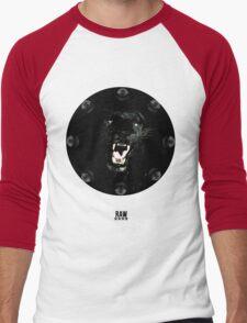 RAW**** x BLACK JAGUAR Men's Baseball ¾ T-Shirt