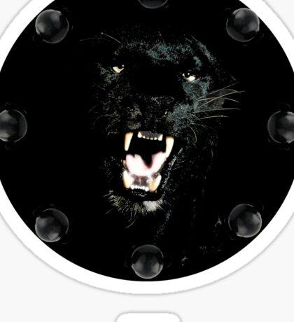 RAW**** x BLACK JAGUAR Sticker