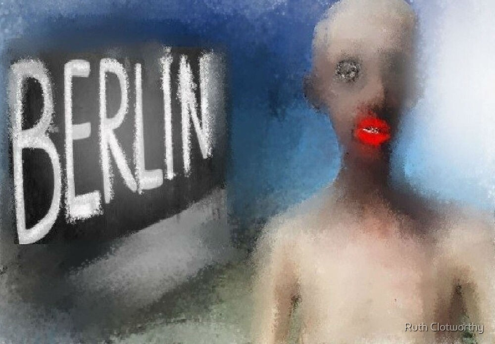 BERLIN - BREAKING DOWN THE WALL by Ruth Clotworthy
