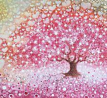 Happy Magic Tree by izumiomoriart