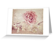 Remember that you are beautyful Greeting Card