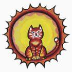 Sun cat in the sun by trossi