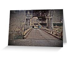 andrew scott bridge antique Greeting Card