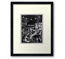 The Killing Jar (Shocking the Monkey.). Framed Print