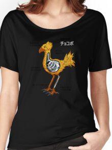 Anatomy of a flightless bird Women's Relaxed Fit T-Shirt