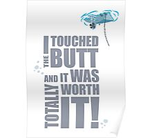 I Touch The Butt... Poster