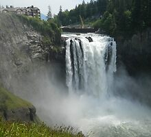 Snoqualmie Falls, WA by kchase