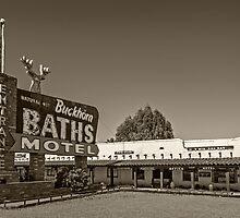 Buckhorn Baths & Motel by LoneTreeImages