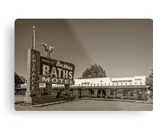Buckhorn Baths & Motel Metal Print