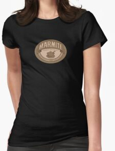 Marmite sepia Womens Fitted T-Shirt