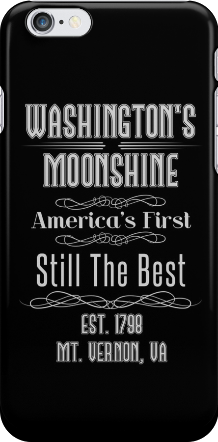 Moonshine - George Washington by Sarah  Eldred