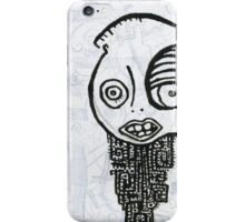 Dissolving Figure #4 iPhone Case/Skin